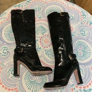 Valentino black leather boots ❤️